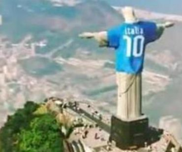 World Cup 2014: Brazil fury over Italian advert that put football shirt on Christ the Redeemer