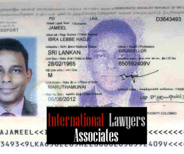 SL foreign diplomatic officer who shamelessly disgraced the country